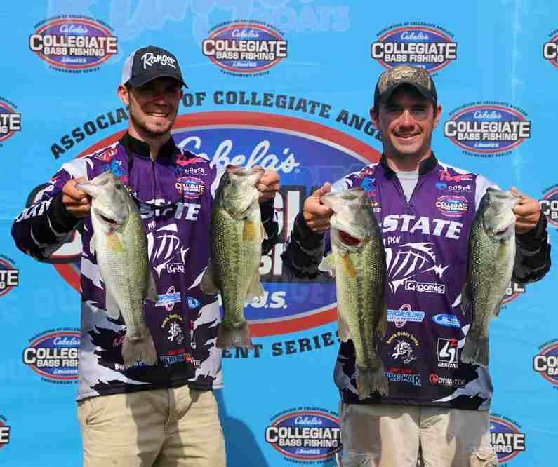 Southern shootout cabela s collegiate bass fishing for College bass fishing